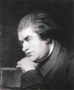 Samuel Johnson as a young man