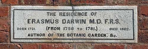 Erasmus-Darwin-House-Plaque-Lichfield
