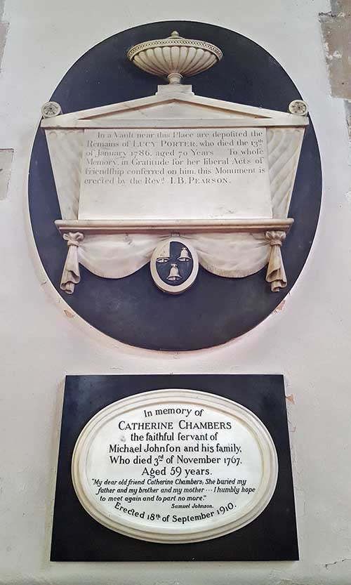 Lucy-Porter-and-Catherine-Chambers-Memorials-St-Chad's-Church-Lichfield