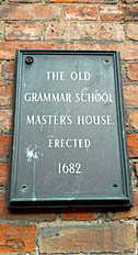 Old-Grammar-School-Master's-House-Plaque-Lichfield