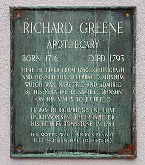 Richard-Greene-Plaque-Lichfield