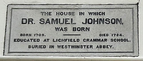 Samuel-Johnson-Birthplace-Plaque-Lichfield